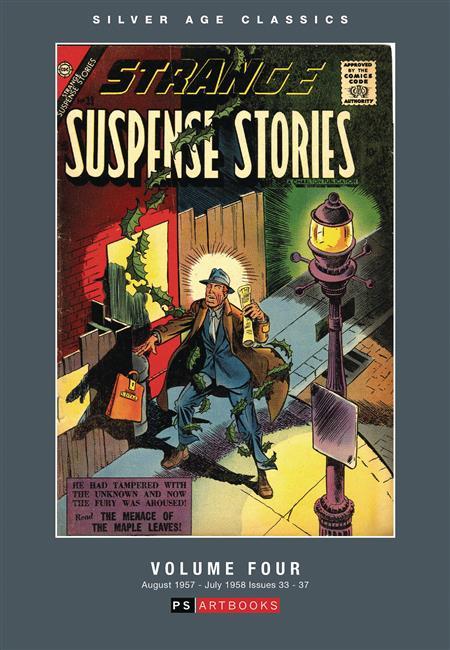 SILVER AGE CLASSICS STRANGE SUSPENSE STORIES HC VOL 04 (C: 0