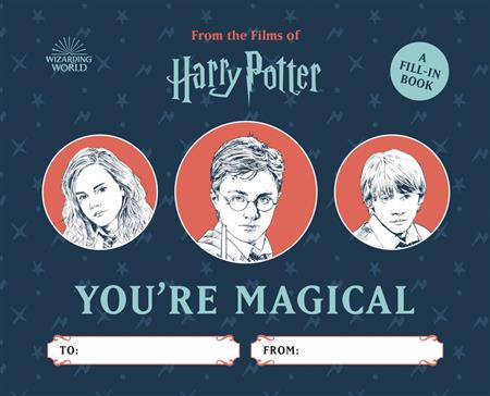 HARRY POTTER YOURE MAGICAL FILL IN HC (C: 0-1-0)