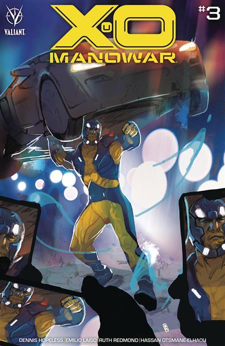 X-O MANOWAR (2020) #3 CVR A WARD