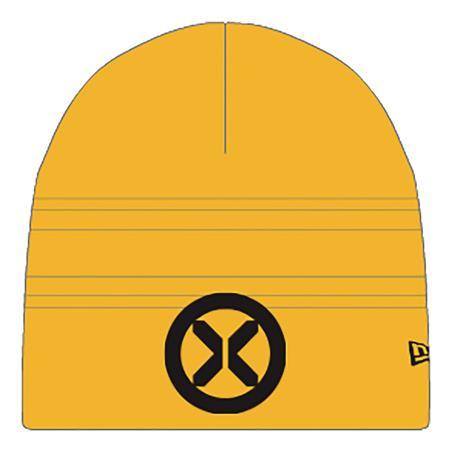 X-MEN SYMBOL PX GOLD KNIT BEANIE (C: 1-1-2)