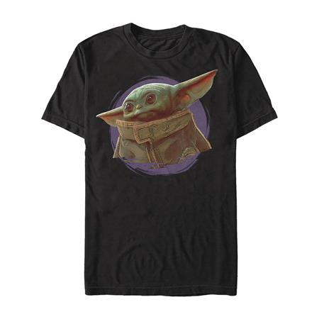 STAR WARS THE MANDALORIAN THE CHILD HEADSHOT T/S MED (C: 1-1