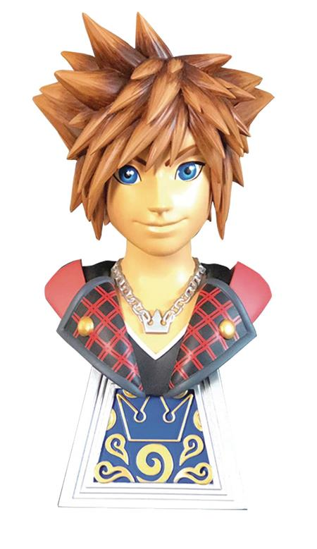 LEGENDS IN 3D GAME KINGDOM HEARTS 3 SORA 1/2 SCALE BUST (C: