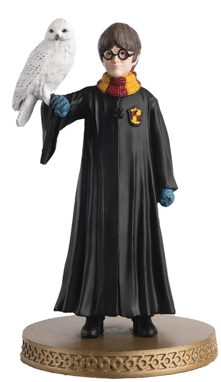 HP WIZARDING WORLD FIGURINE COLLECTION #40 HARRY & HEDWIG (C