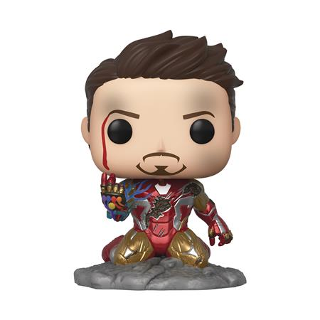 POP AVENGERS ENDGAME I AM IRON MAN PX GID DLX VIN FIG (C: 1-