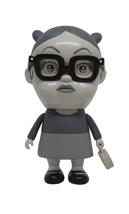 GHOST WORLD BIGGER LITTLE ENID SOFT VINYL DOLL B&W VER (Net)