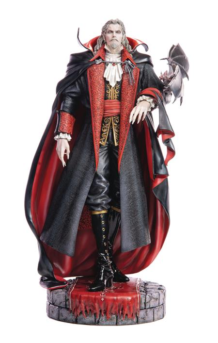 CASTELVANIA DRACULA REGULAR EDITION 20IN RESIN STATUE (Net)