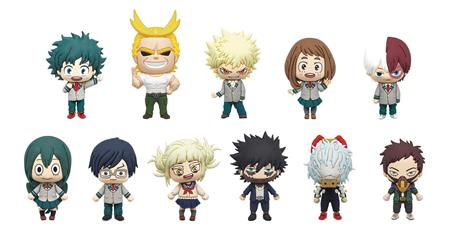 MY HERO ACADEMIA SERIES3 3D FOAM BAG CLIP 24PCS BMB DS (C: 1