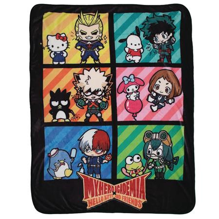 SANRIO X MY HERO ACADEMIA THROW BLANKET (C: 1-0-2)