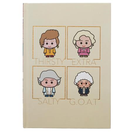 GOLDEN GIRLS HARDCOVER JOURNAL (C: 1-0-2)