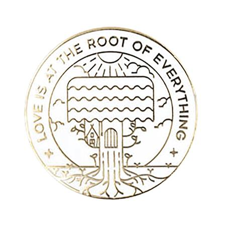 MISTER ROGERS LOVE IS THE ROOT OF EVERYTHING WHITE PIN (C: 1