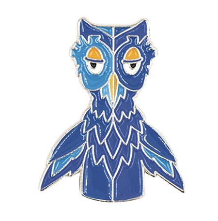 MISTER ROGERS NEIGHBORHOOD X THE OWL ENAMEL PIN (C: 1-1-2)