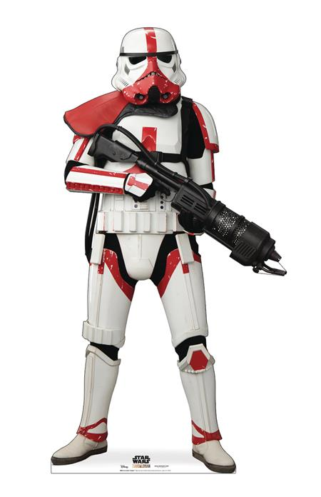 STAR WARS INCINERATOR TROOPER LIFE-SIZE STAND-UP (C: 1-1-2)