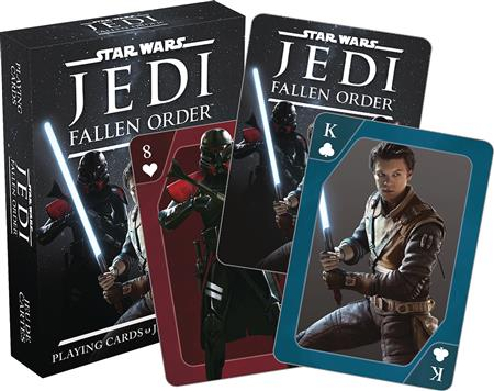 STAR WARS JEDI THE FALLEN ORDER PLAYING CARDS (C: 1-1-0)