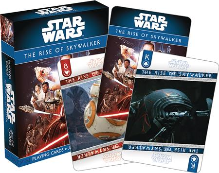 STAR WARS RISE OF SKYWALKER PLAYING CARDS (C: 1-1-0)