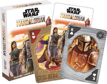 STAR WARS THE MANDALORIAN PLAYING CARDS (C: 1-1-0)