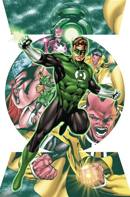 HAL JORDAN AND THE GREEN LANTERN CORPS #1 *REBIRTH OVERSTOCK*