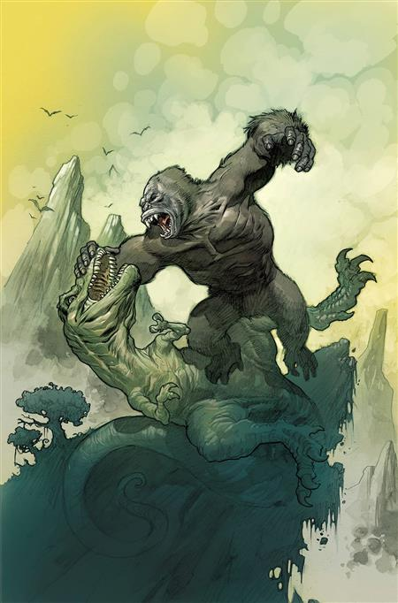Kong King of Skull Island #2 Cover A