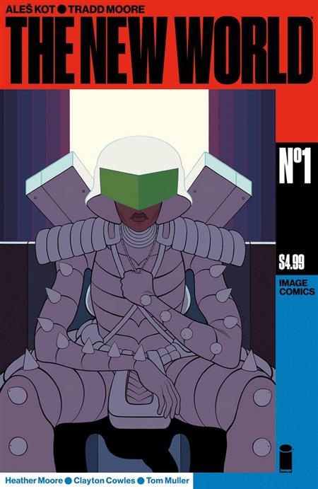 NEW WORLD #1 (OF 5) CVR A MOORE & MULLER (MR)