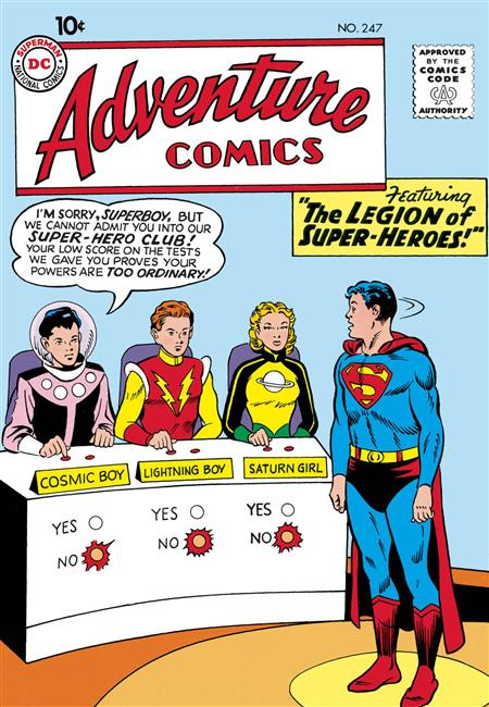 LEGION OF SUPER HEROES THE SILVER AGE TP VOL 01