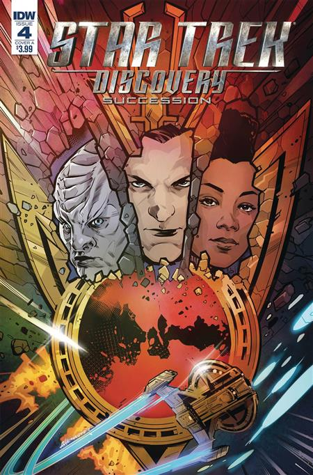 STAR TREK DISCOVERY SUCCESSION #4 CVR A HERNANDEZ