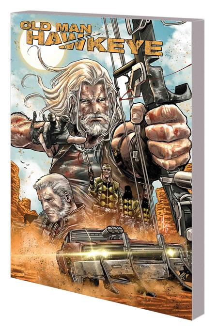 OLD MAN HAWKEYE TP VOL 01 AN EYE FOR EYE