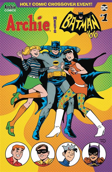 ARCHIE MEETS BATMAN 66 #1 CVR D JARRELL & FITZPATRICK