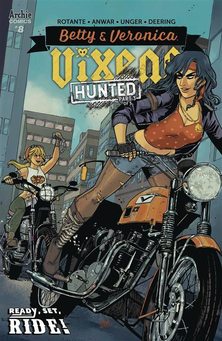 BETTY AND VERONICA VIXENS #8 CVR A ANWAR