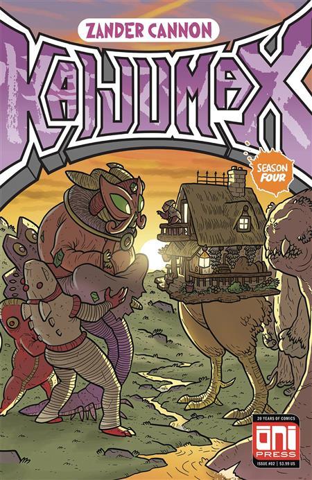 KAIJUMAX SEASON 4 #2 (OF 6) (MR)