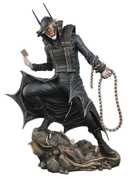 DC GALLERY BATMAN COMIC WHO LAUGHS PVC STATUE (C: 1-1-0)
