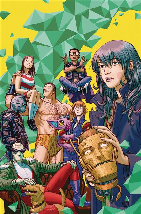 DOOM PATROL THE WEIGHT OF THE WORLDS #1 (MR)