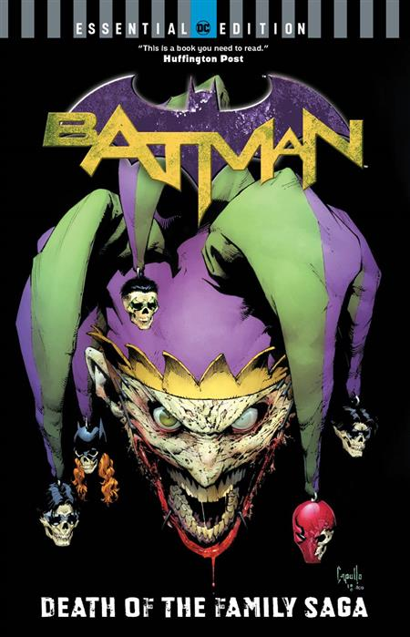 BATMAN DEATH OF THE FAMILY SAGA DC ESSENTIAL ED TP
