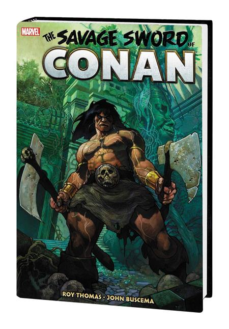 SAVAGE SWORD OF CONAN ORIG MARVEL YRS OMNIBUS HC VOL 02