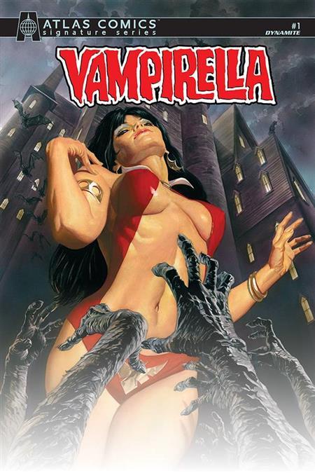 VAMPIRELLA #1 LTD ED SANJULIAN CVR