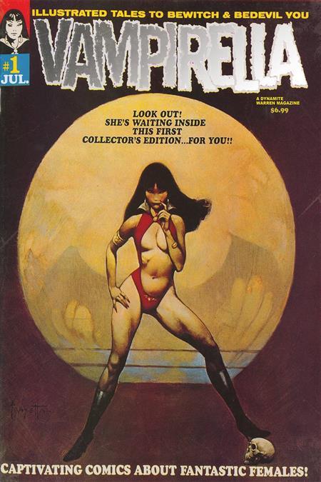 VAMPIRELLA #1 1969 REPLICA ED
