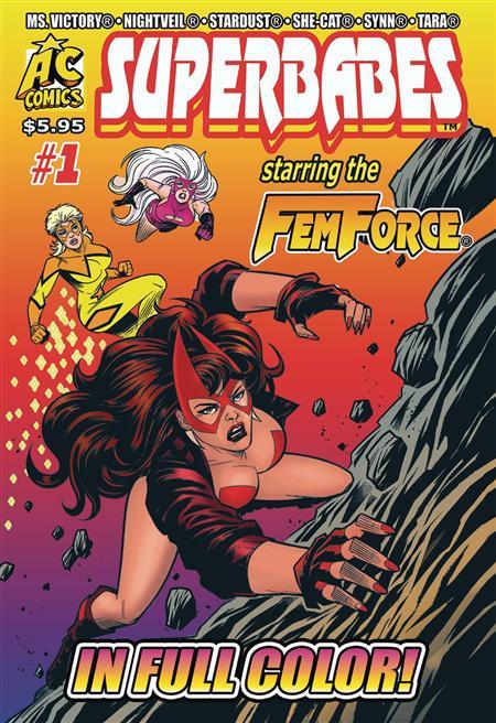 SUPERBABES STARRING FEMFORCE #1