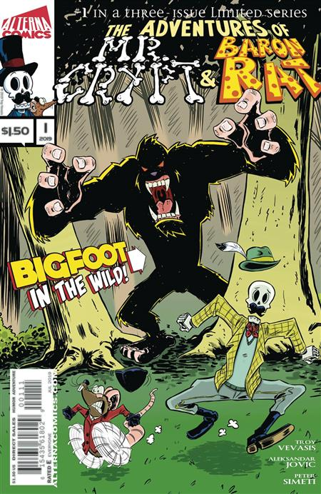 ADV OF MR CRYPT & BARON RAT #1 (OF 3)