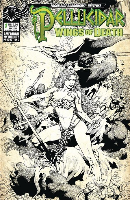 PELLUCIDAR WINGS OF DEATH #1 CVR C LTD ED VAR * Allocations may occur