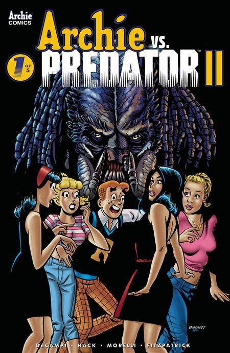 ARCHIE VS PREDATOR 2 #1 (OF 5) CVR B BURCHETT