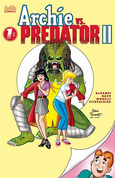 ARCHIE VS PREDATOR 2 #1 (OF 5) CVR E DAN PARENT