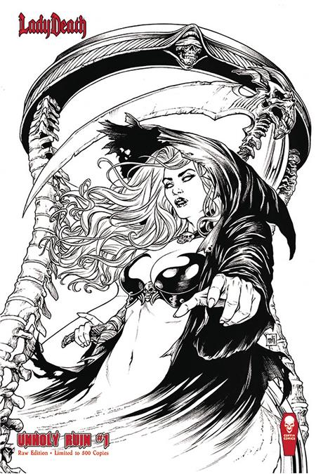 LADY DEATH UNHOLY RUIN #1 RAW ED (MR)