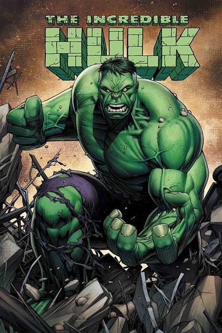 DF INCREDIBLE HULK LAST CALL #1 SGN DAVID