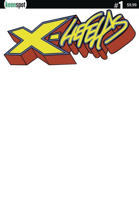 X LIEFELDS #1 CVR E BLANK SKETCH
