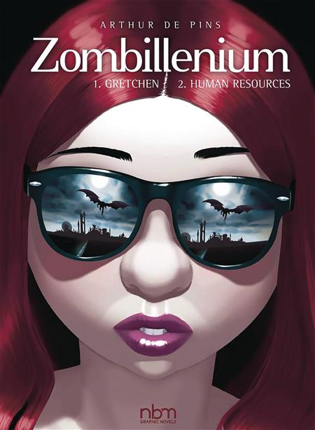 ZOMBILLENIUM DOUBLE HC VOL 1 & 2 GRETCHEN HUMAN RESOURCES