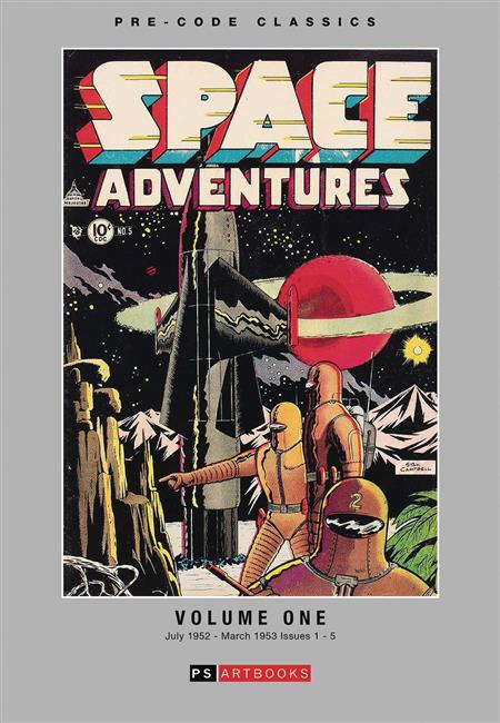 PRE CODE CLASSICS SPACE ADVENTURES HC VOL 01 (C: 0-1-1)