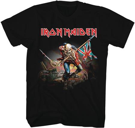 IRON MAIDEN THE TROOPER T/S LG (C: 1-1-2)