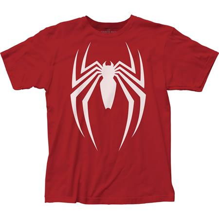 SPIDER-MAN VIDEO GAME LOGO T/S LG (C: 1-1-2)