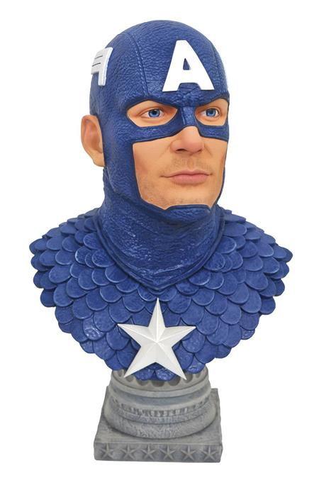 LEGENDS IN 3D MARVEL CAPTAIN AMERICA 1/2 SCALE BUST (C: 1-1-
