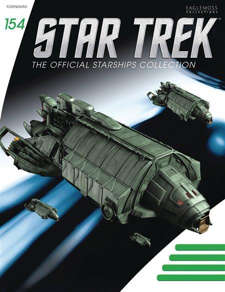 STAR TREK STARSHIPS FIG MAG #154 KLINGON REBEL TRANSPORT (C: