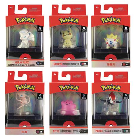 POKEMON SELECT COLL 2IN FIG W/CASE ASST WAVE 2 (C: 1-1-2)