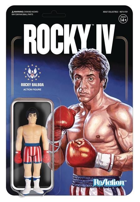 ROCKY ROCKY BALBOA REACTION FIGURE (Net) (C: 1-1-2)